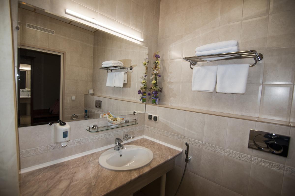 Ванная в отеле