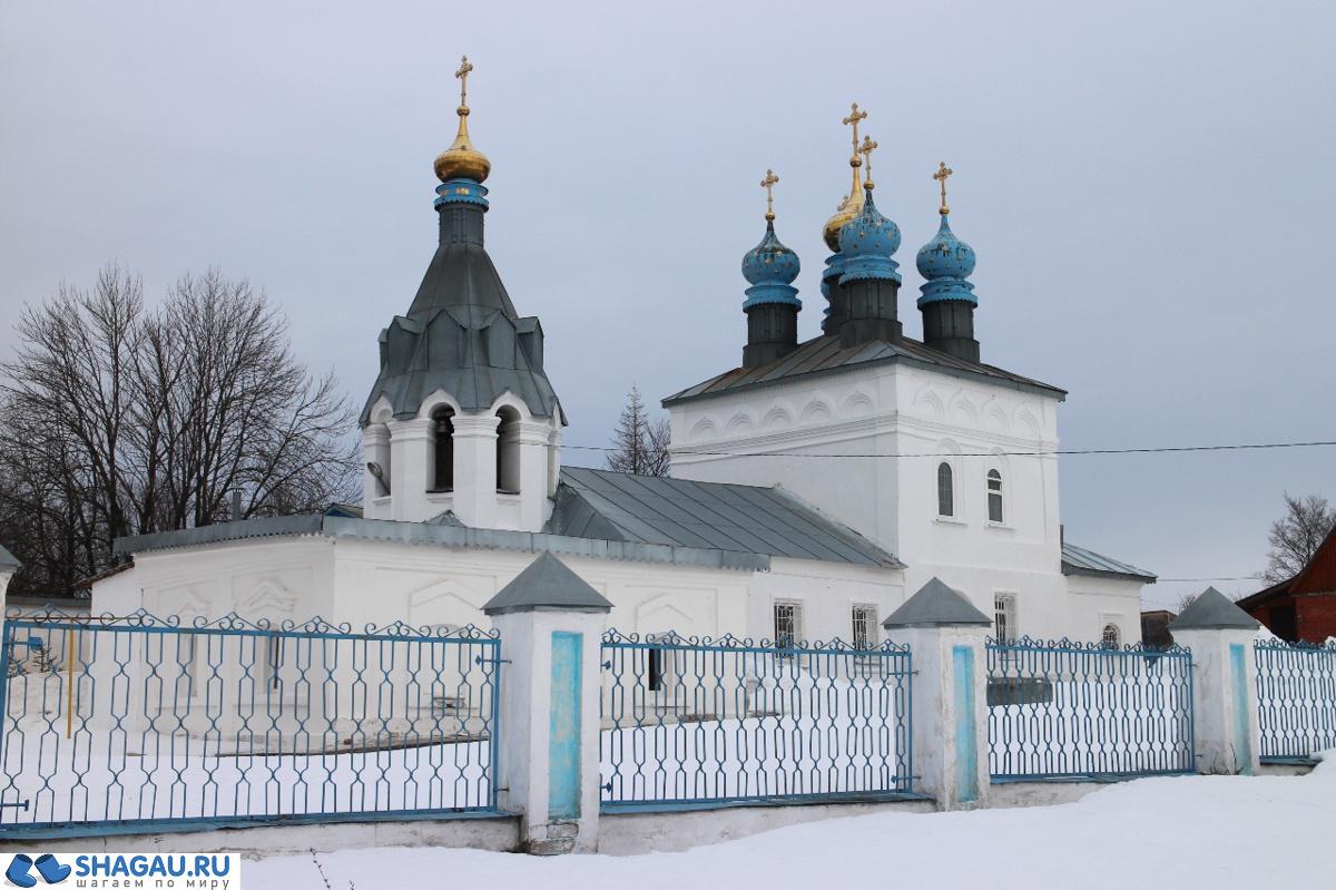 Покровский храм в Путятино