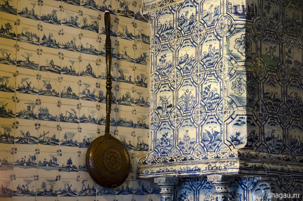 Спальня Меньшиковского дворца