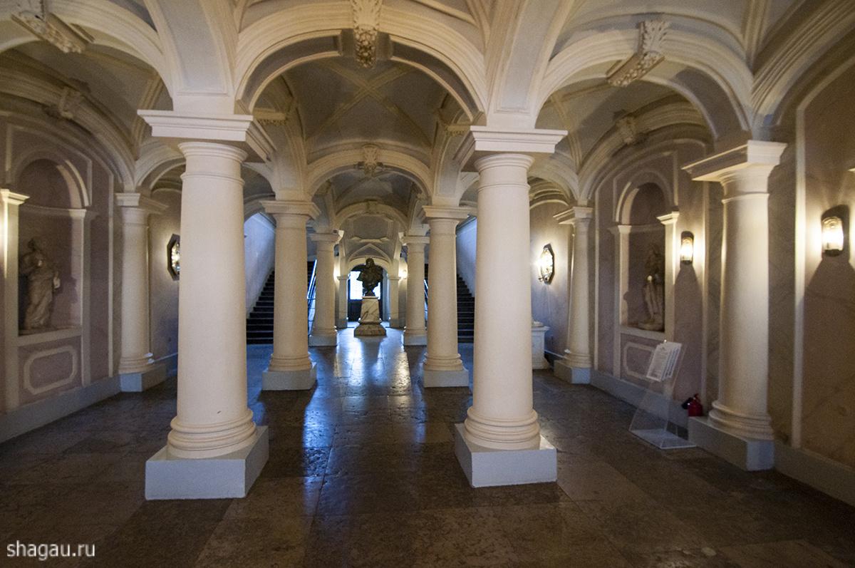 Залы во дворце Меньшикова