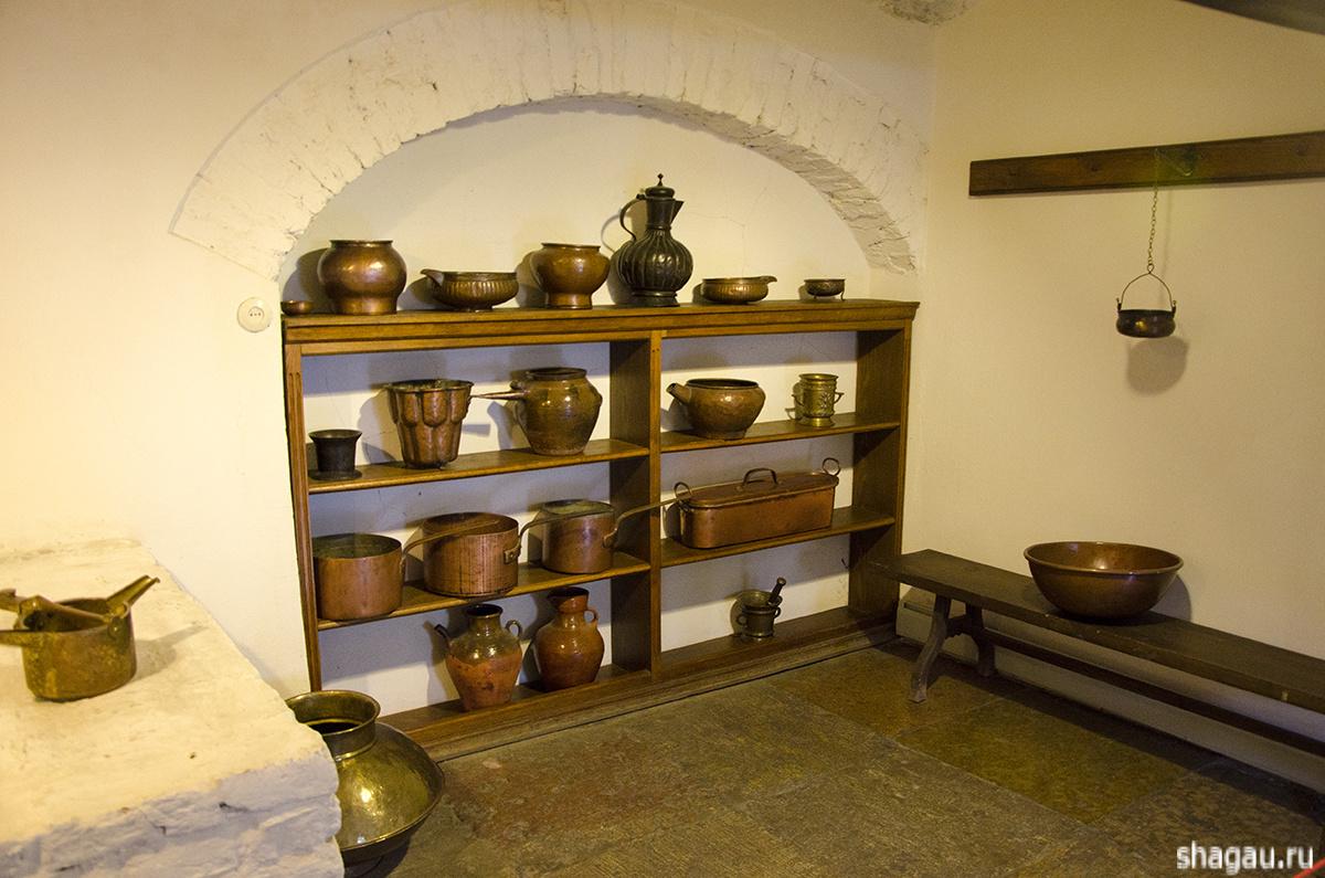 Кухня в Меньшиковском дворце