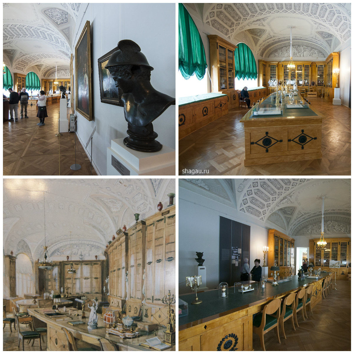 Библиотека Павловского дворца