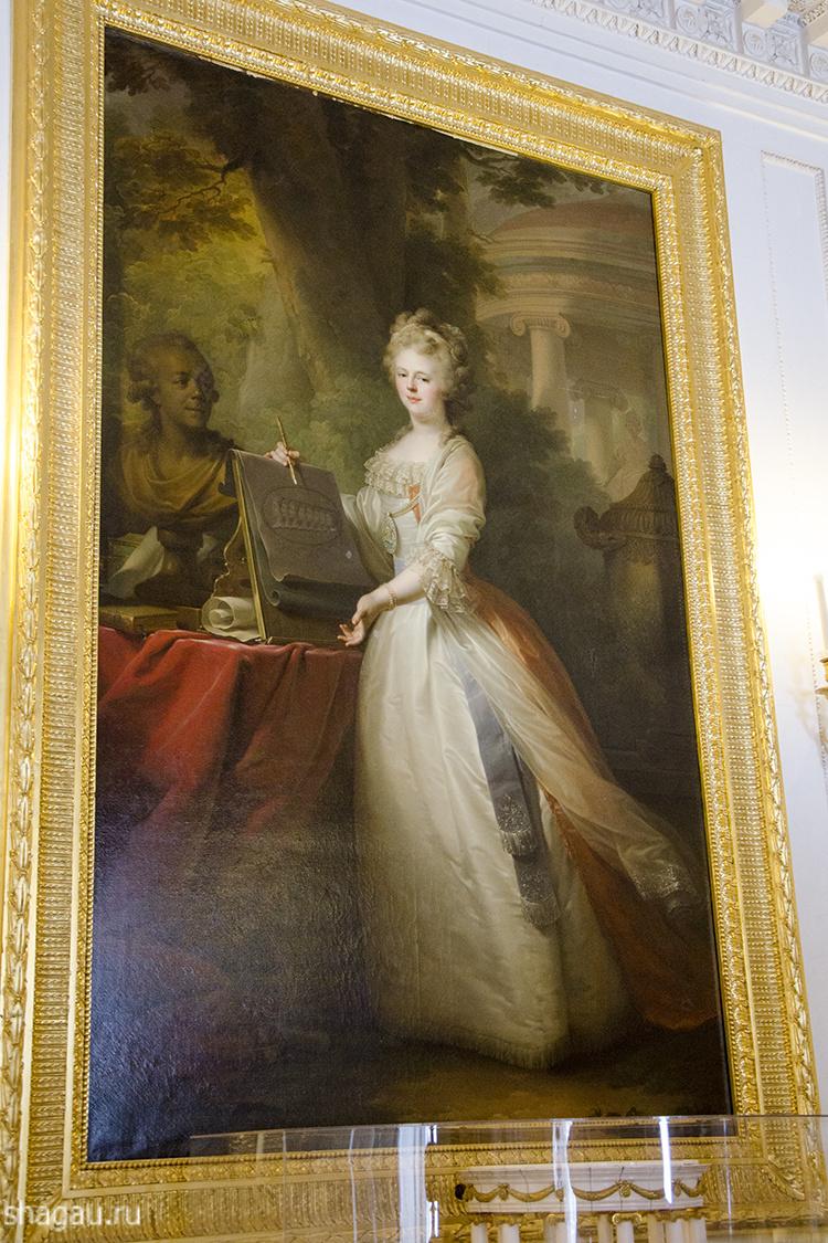 Портрет Марии Федоровны