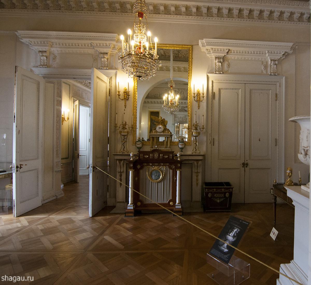 Малый кабинет Павловский замок
