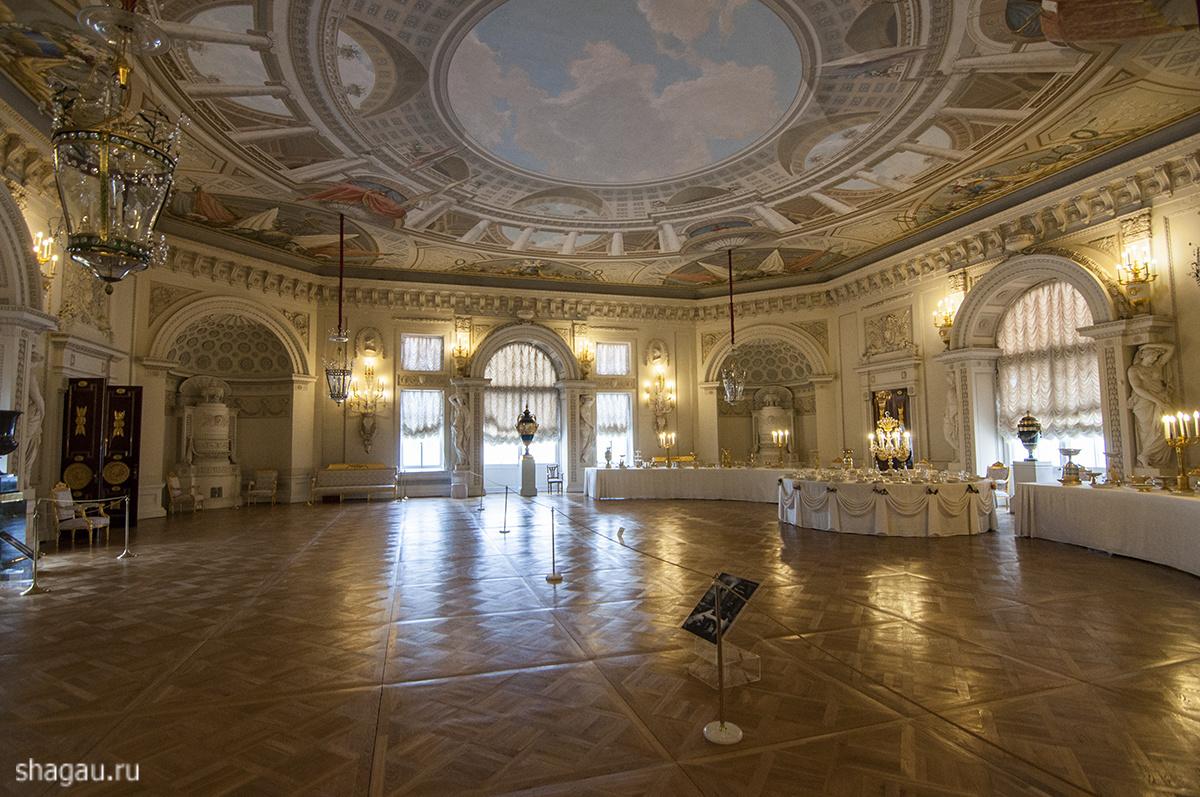 Тронный зал Павловского дворца