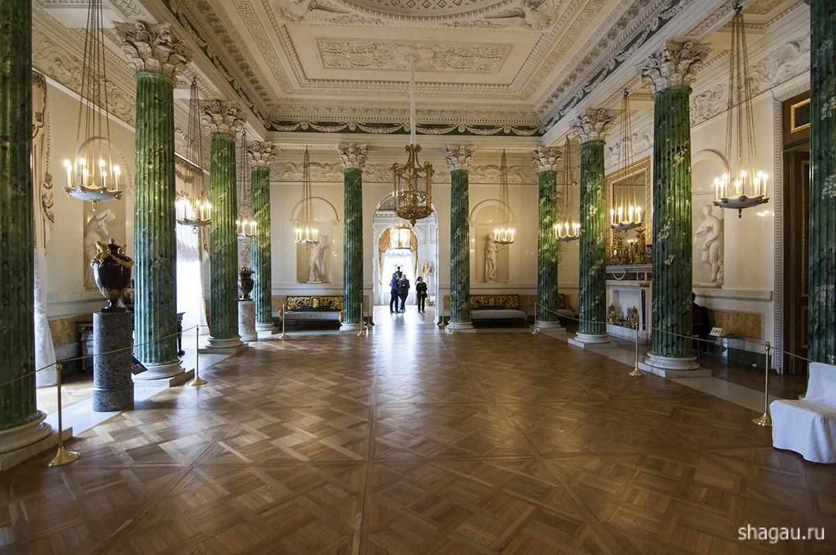 Греческий зал Павловского дворца