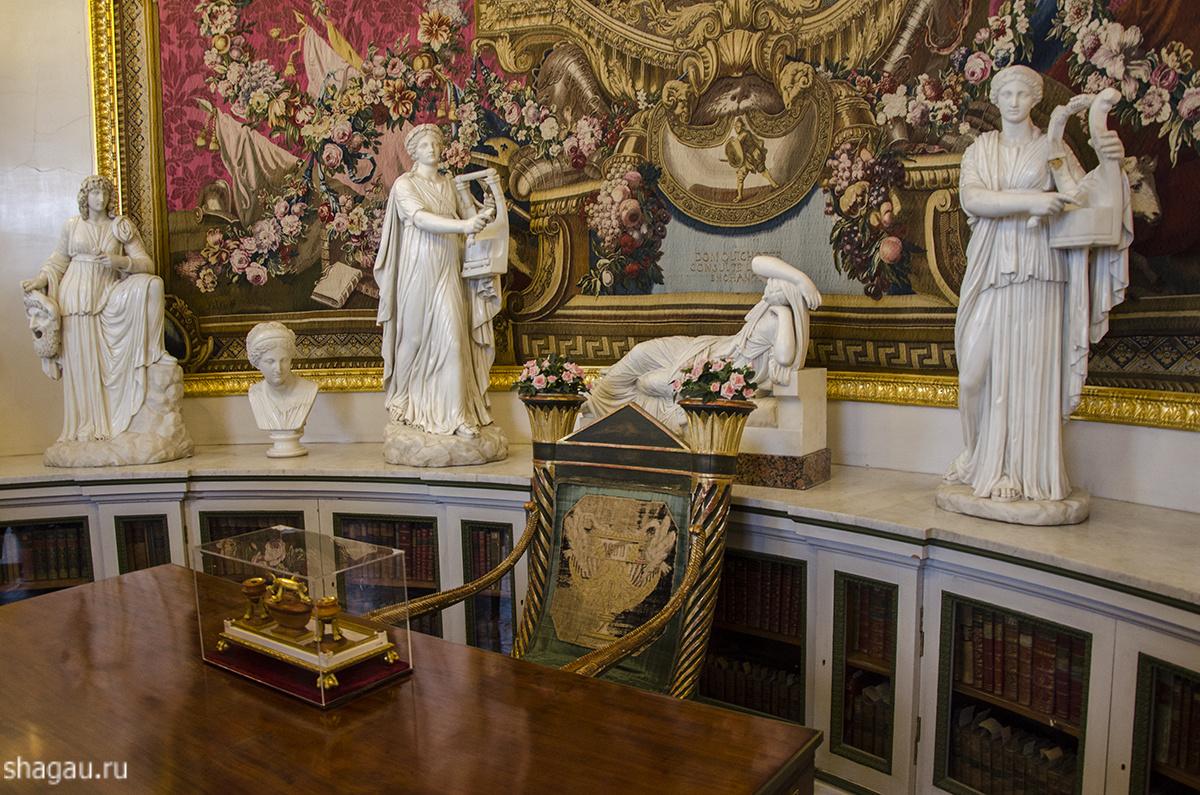 Библиотека Марии Федоровны в Павловском дворце