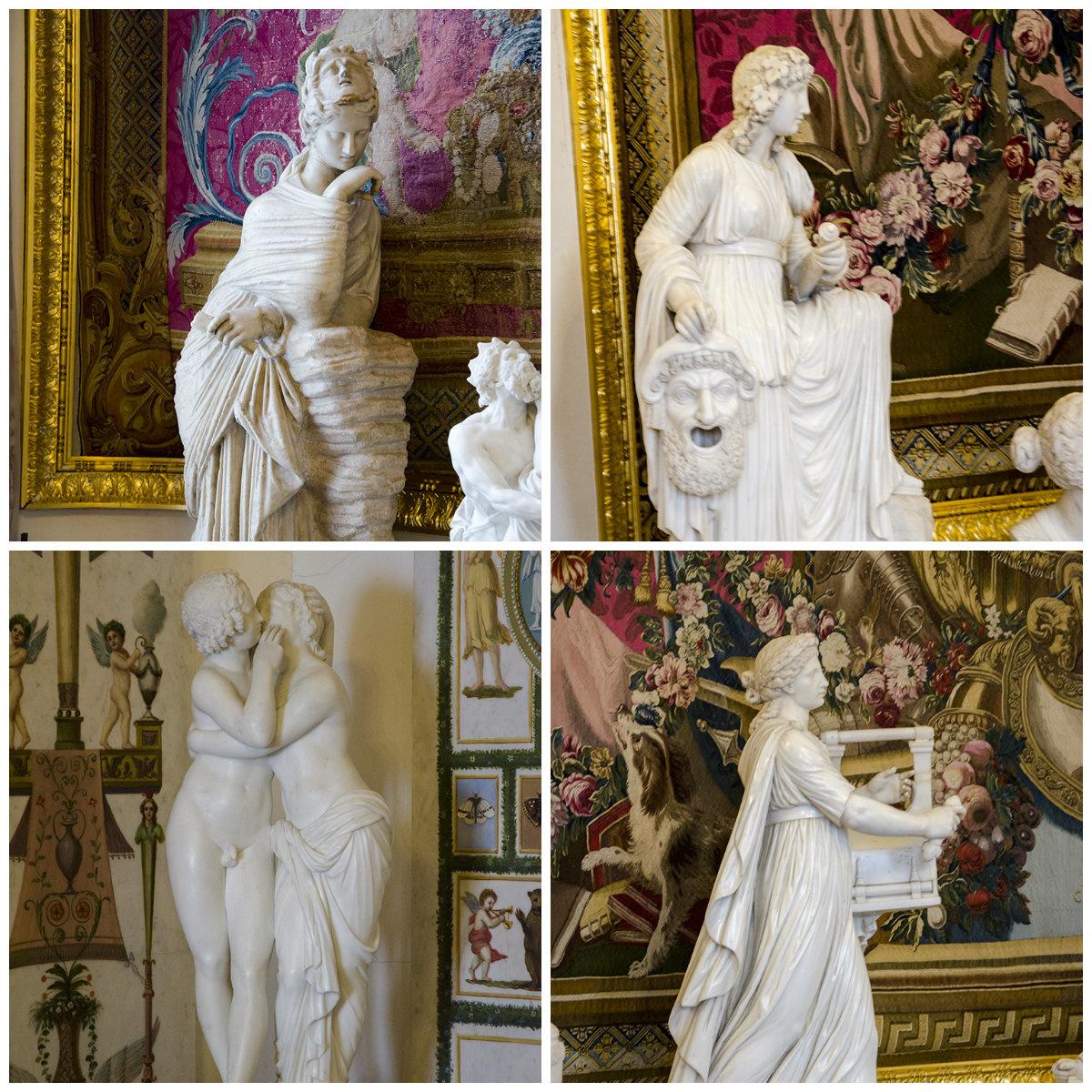 Скульптуры Павловского дворца