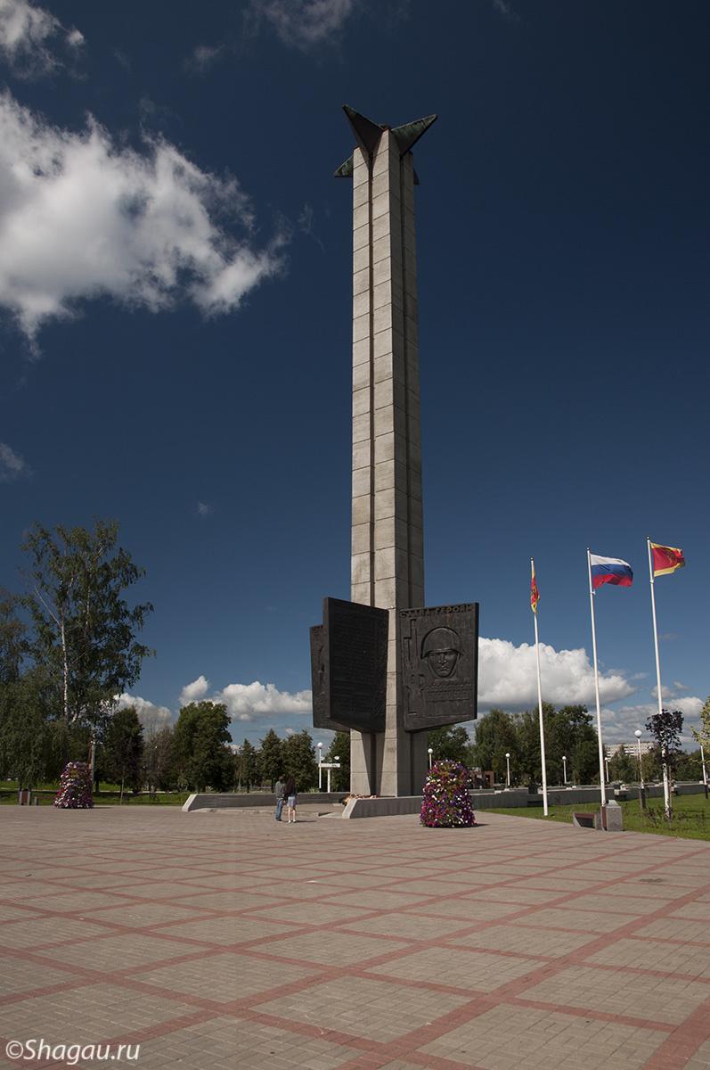 Остров Памяти. Мемориал