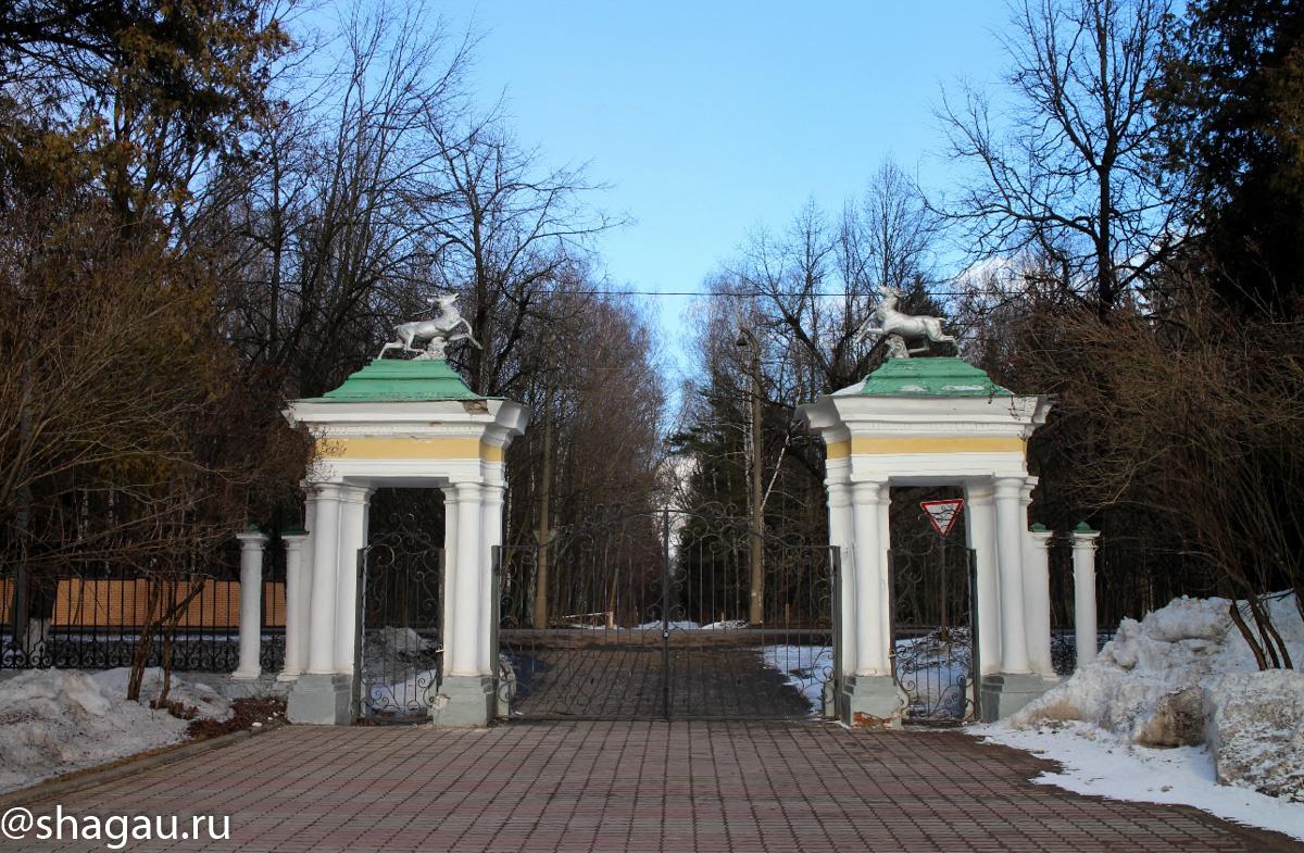 Усадьба Валуево. Ворота