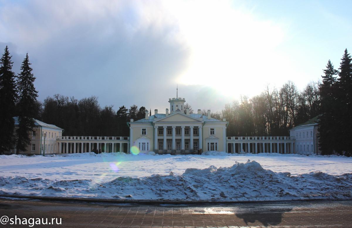 Усадьба Валуево. Главный дом