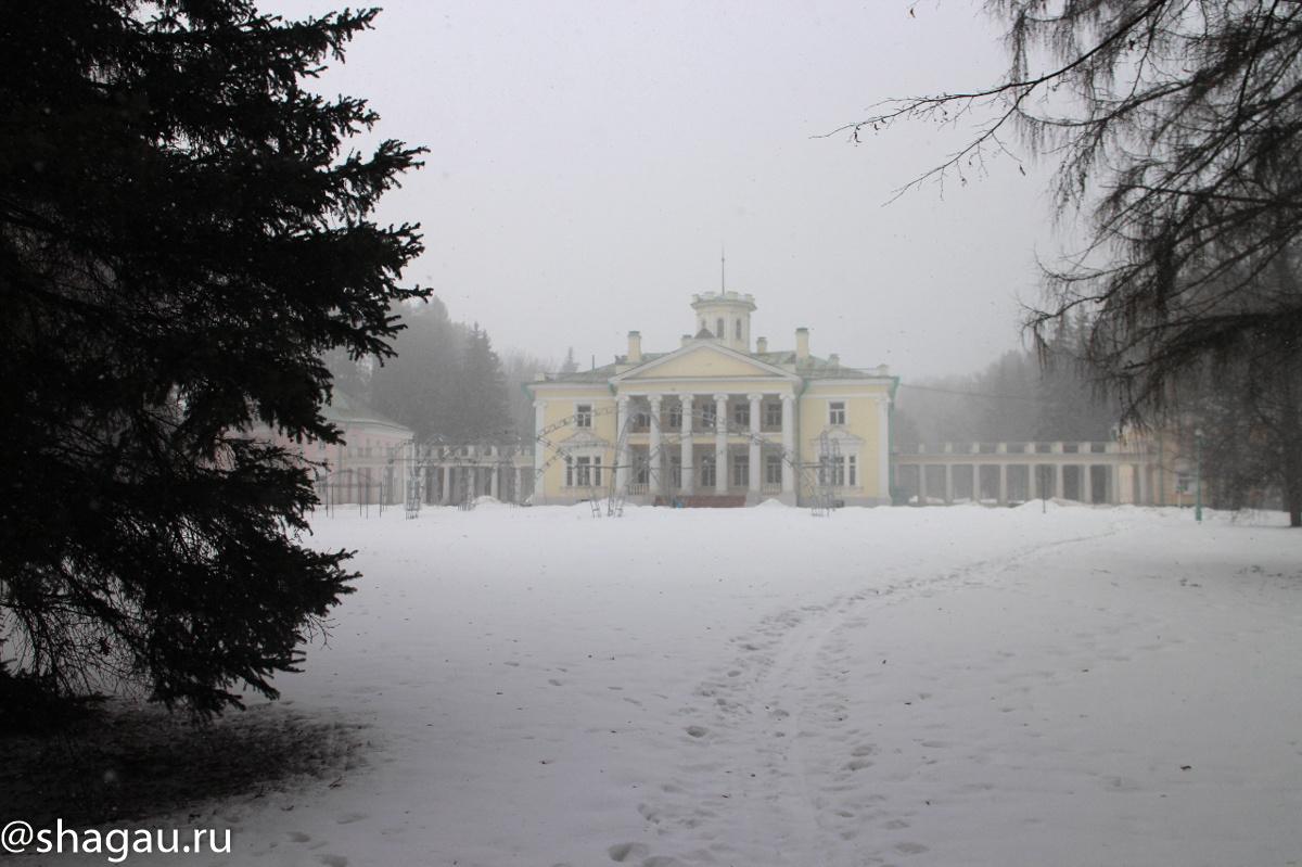 Главный дом усадьбы Валуево