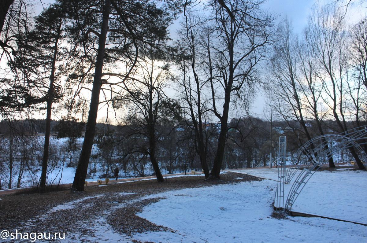 Усадьба Валуево. Парк