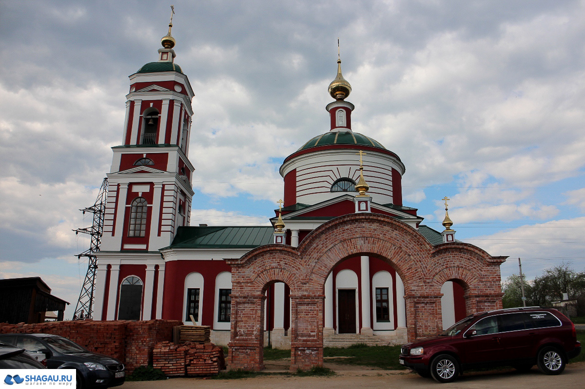 Храм в Русиново