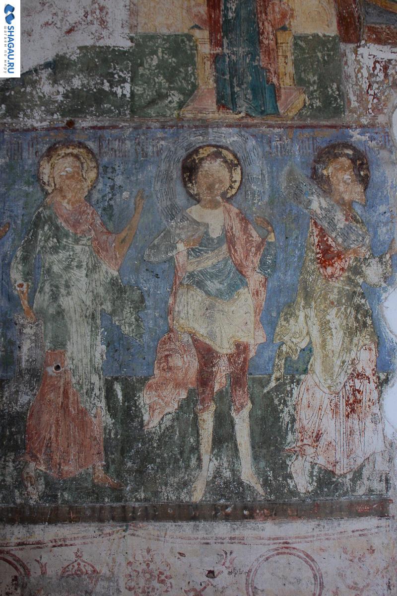 Фрески в Колокольне