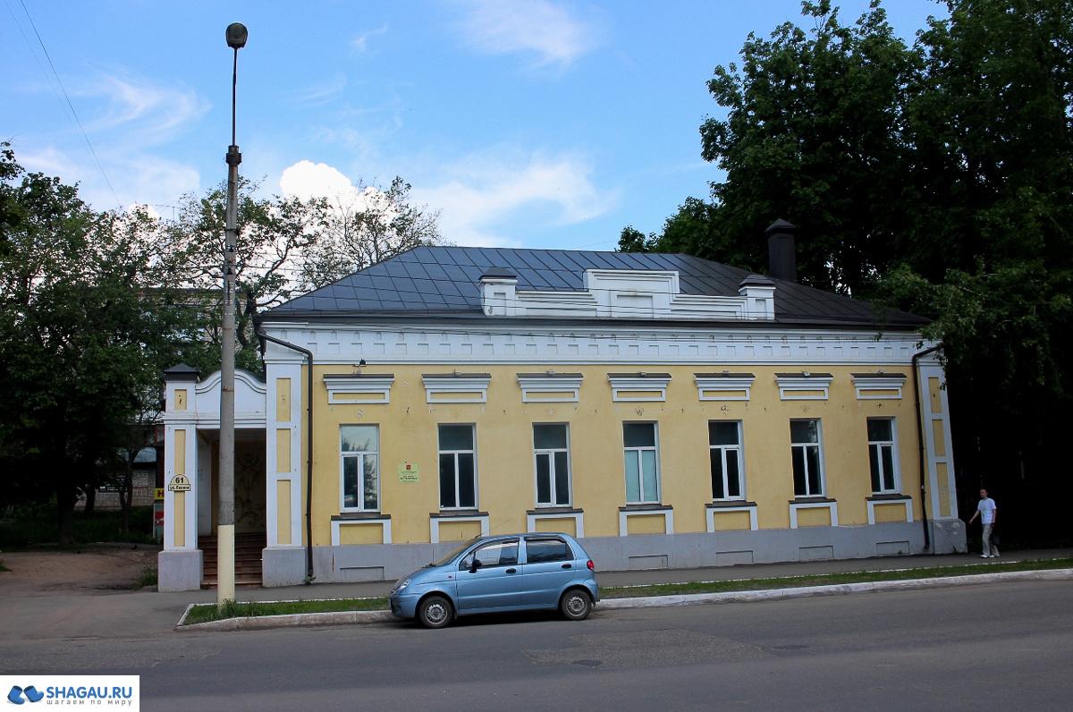 Дом Растворовых