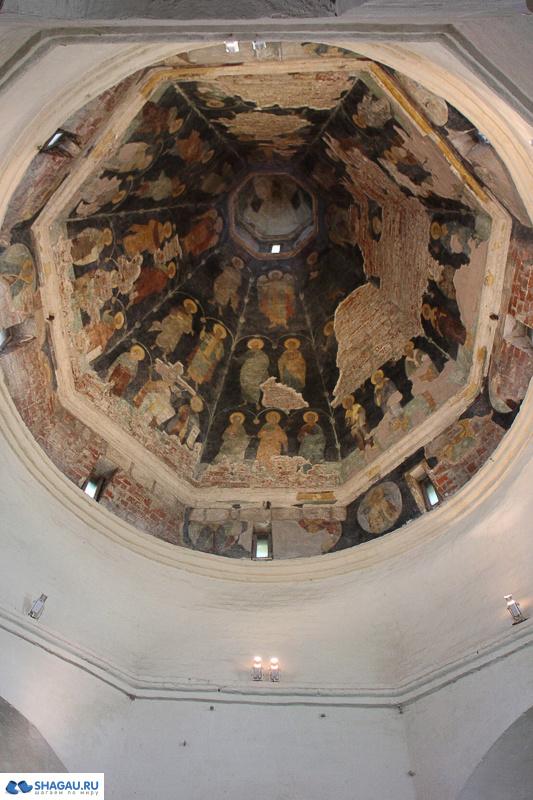 Фрески в Покровской церкви