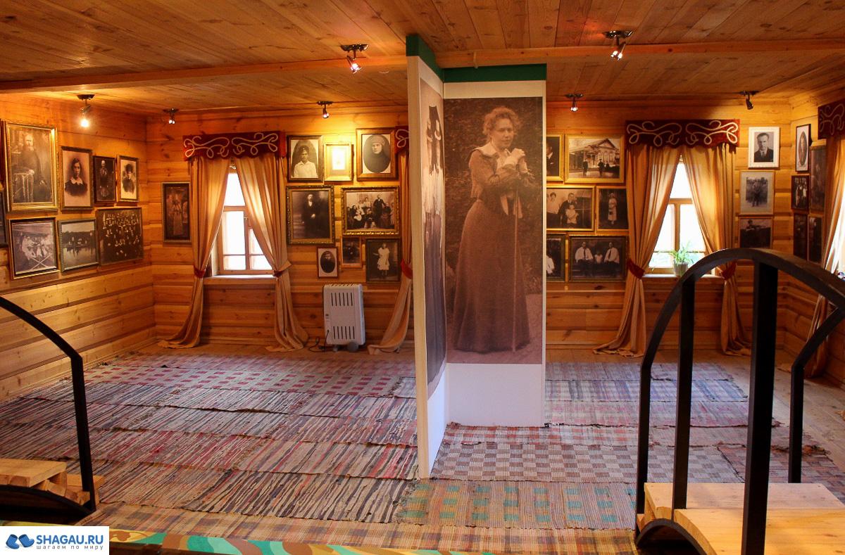 В музее Цветаевой