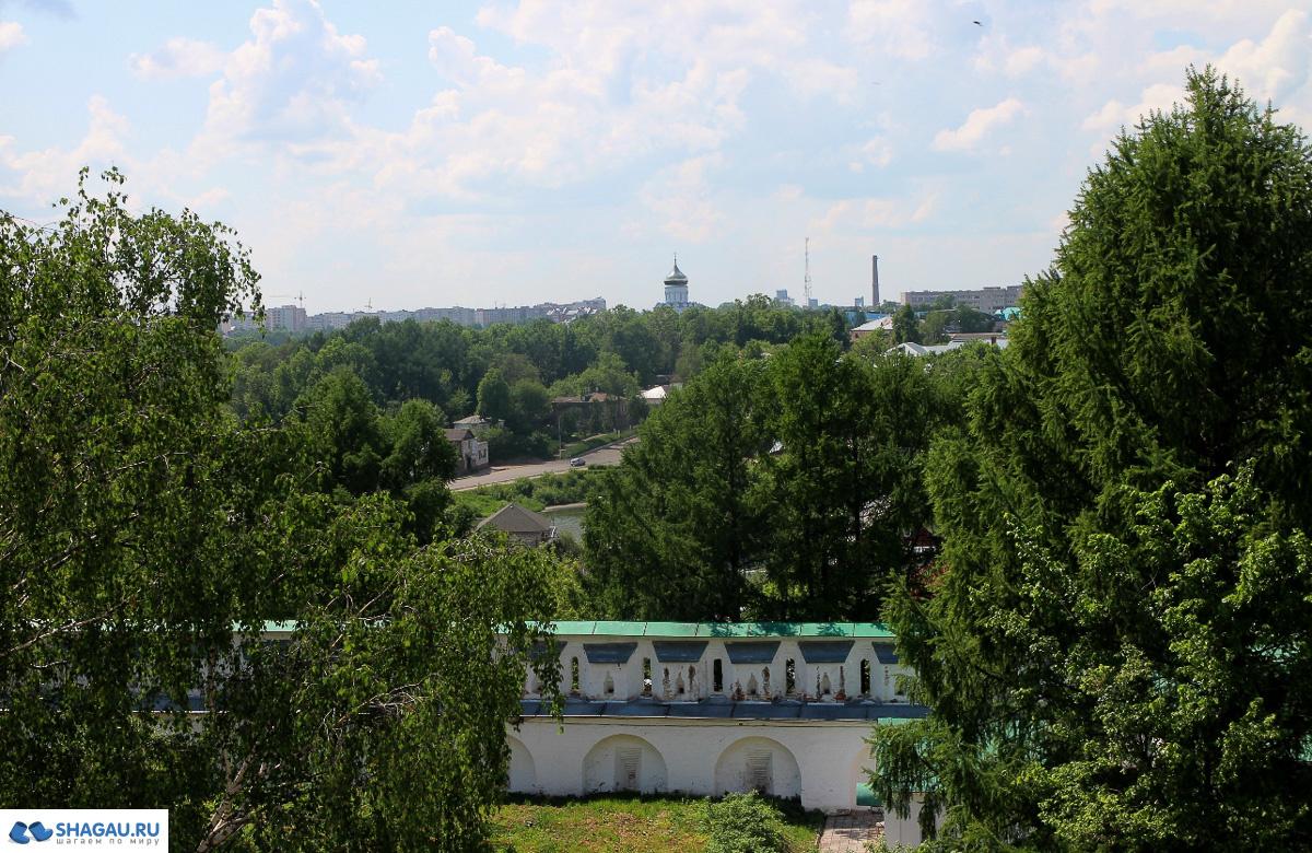Распятская колокольня и смотровая площадка