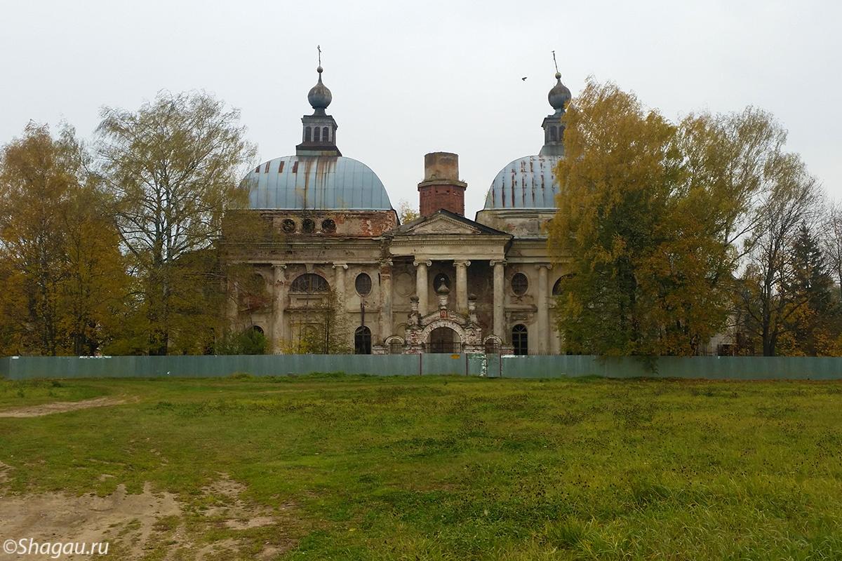 Церковь в Яропольце