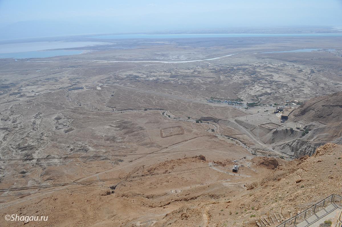 Пейзаж с высоты Массады