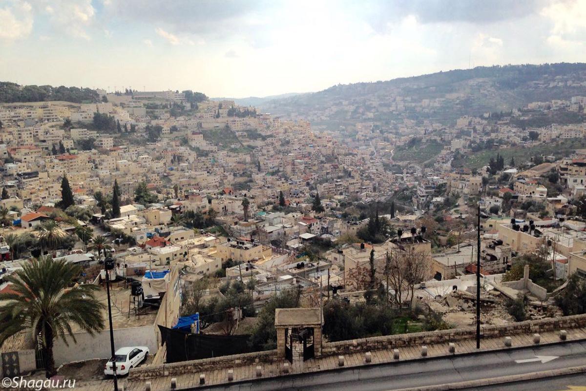 С высоты Храмовой горы