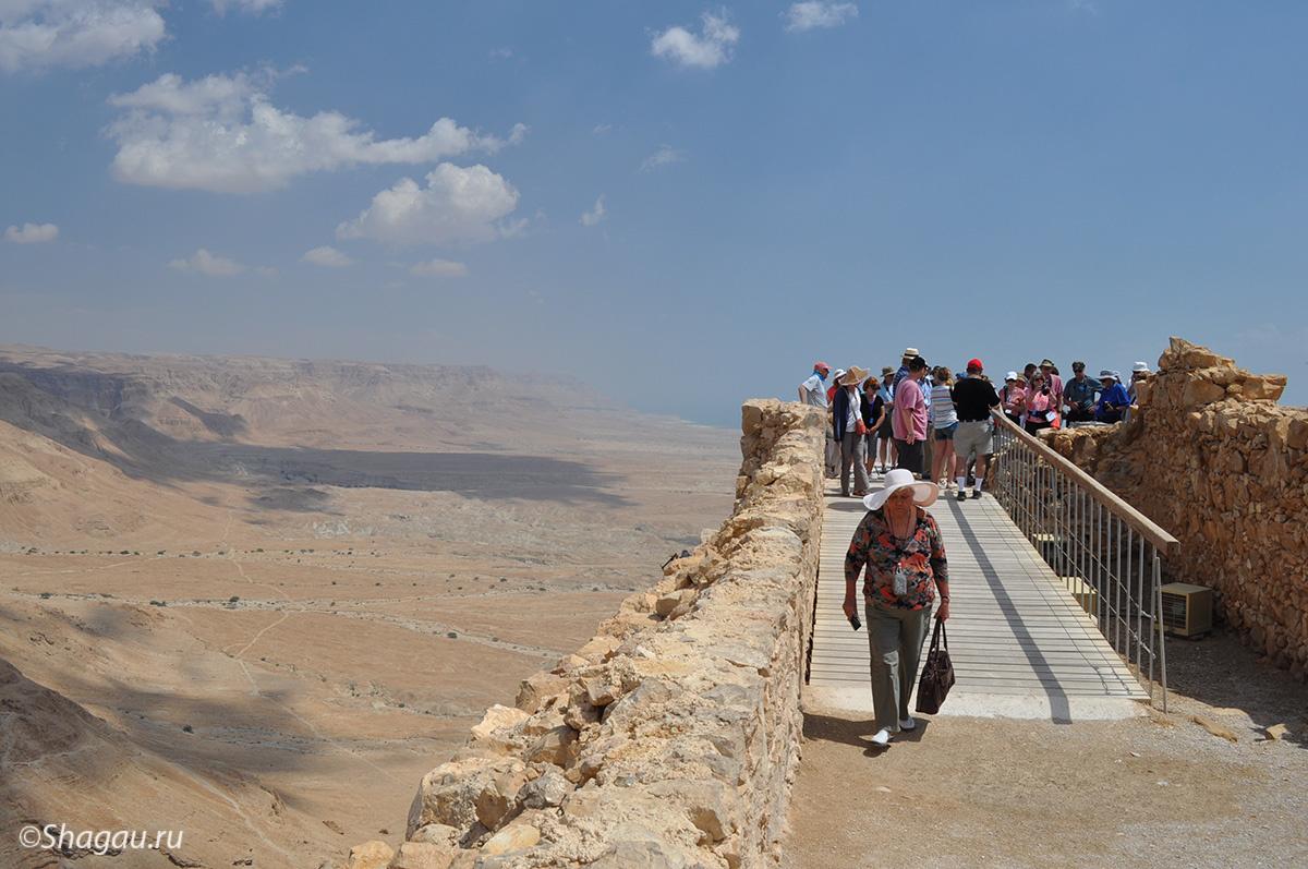 Массада. Израиль