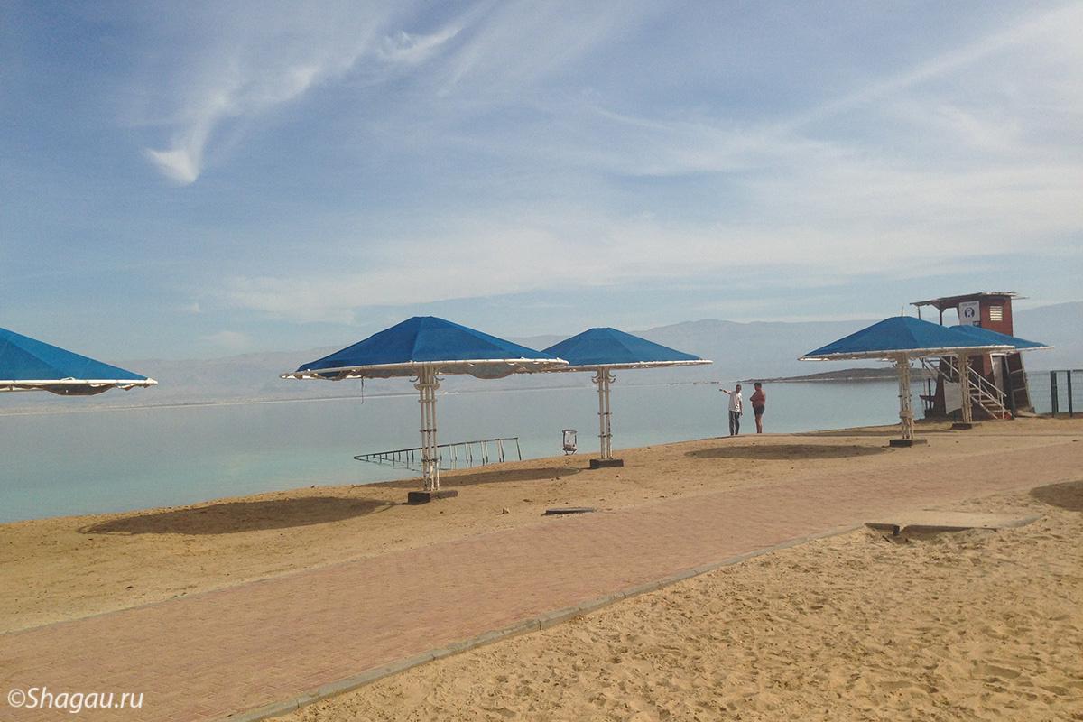 Пляжи Эйн-Бокек
