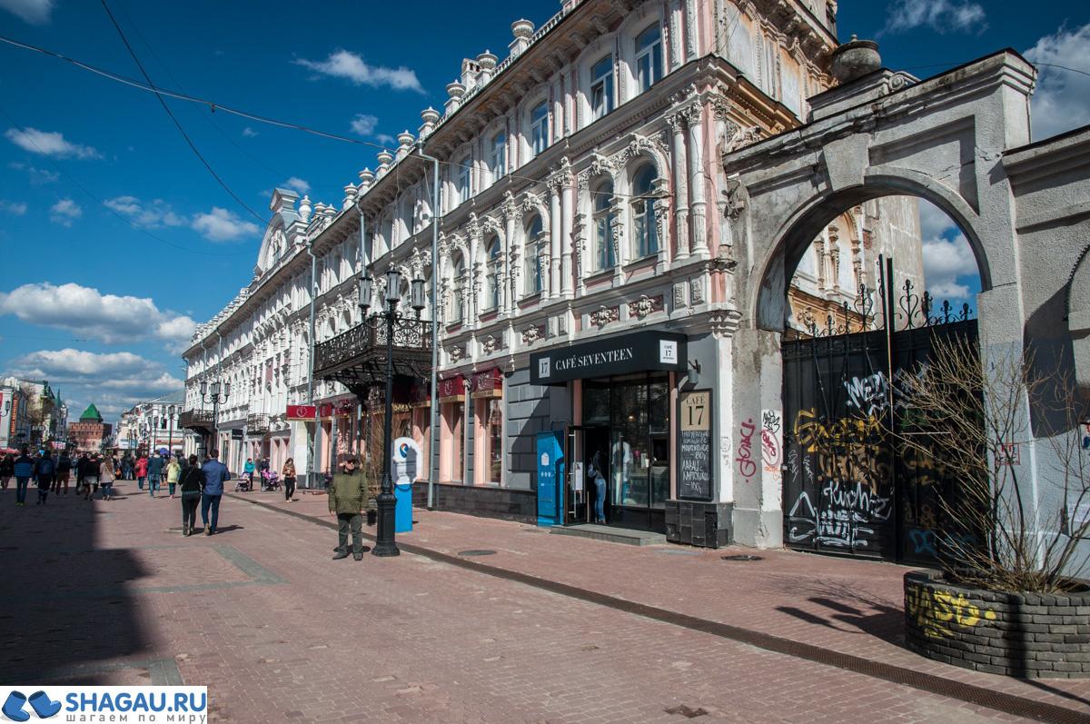 Большая Покровская в Нижнем Новгороде