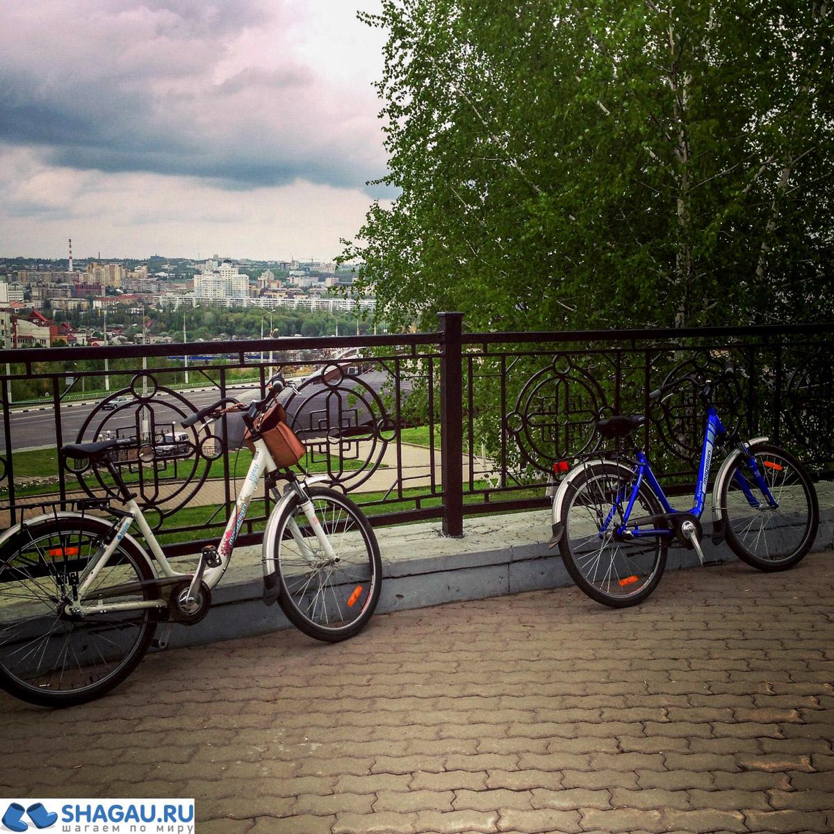 Велосипедная прогулка по Белгороду