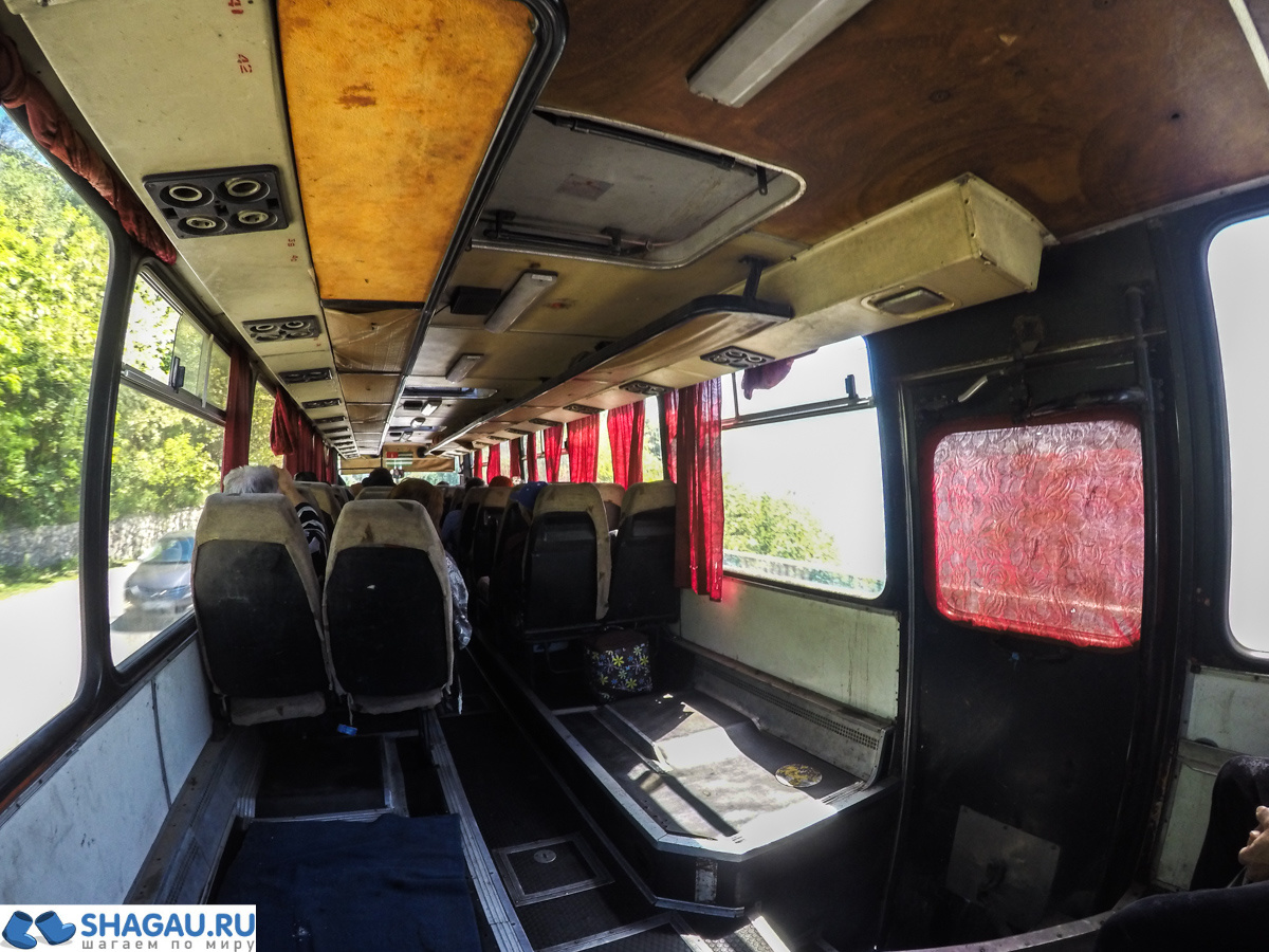 Автобусы в Абхазии