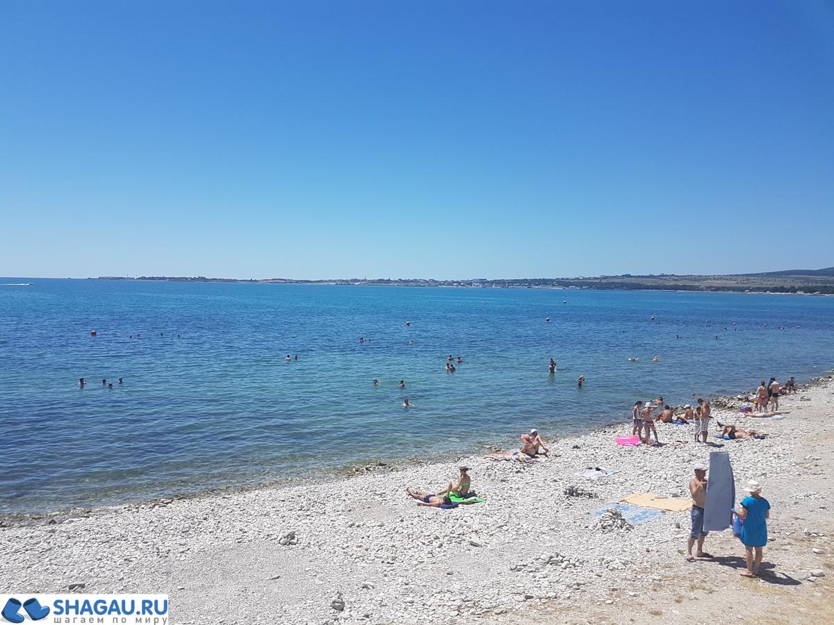 Галечные пляжи Геленджика