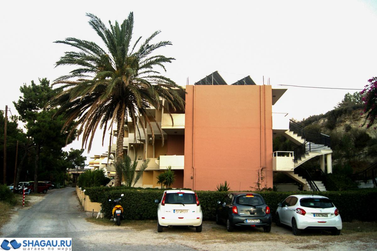 Panorama Studios 3* (Фалираки, Родос)
