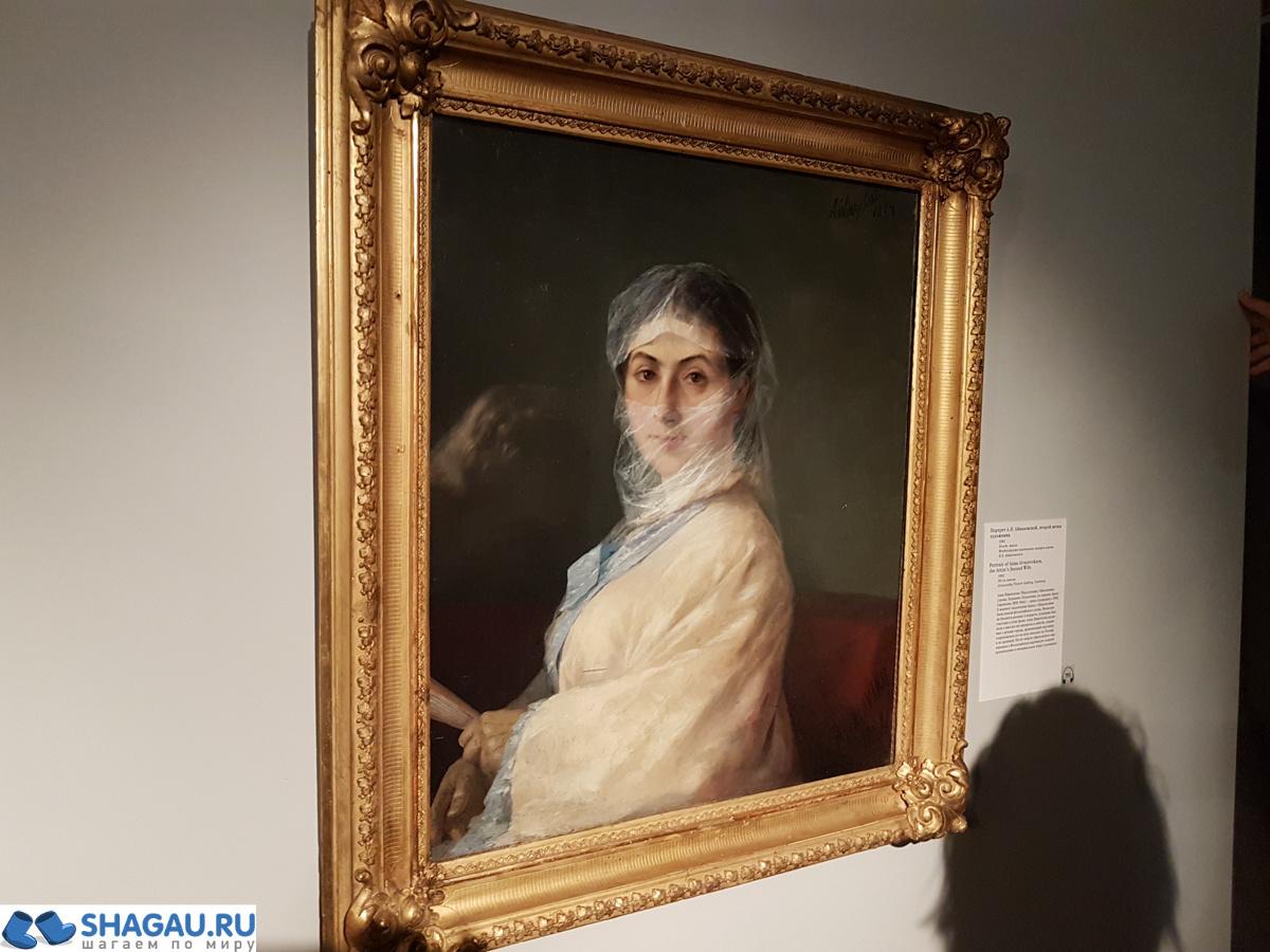 Отзыв о посещении выставки Айвазовского в Третьяковке на Крымском валу