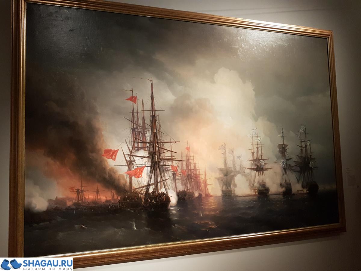 Выставка Айвазовского