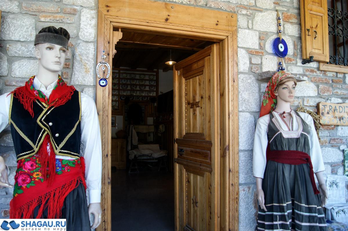 Дом Савасса: традиционный греческий дом