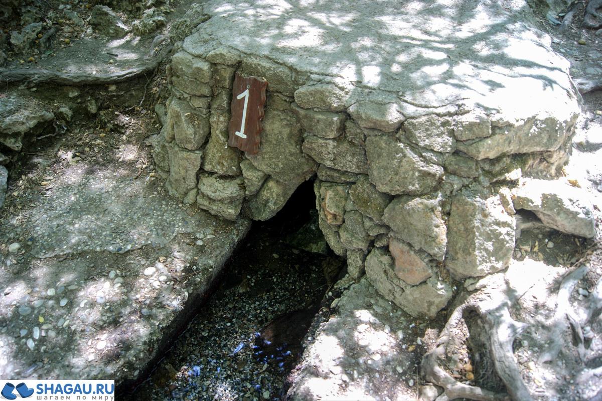 7 источников на Родосе