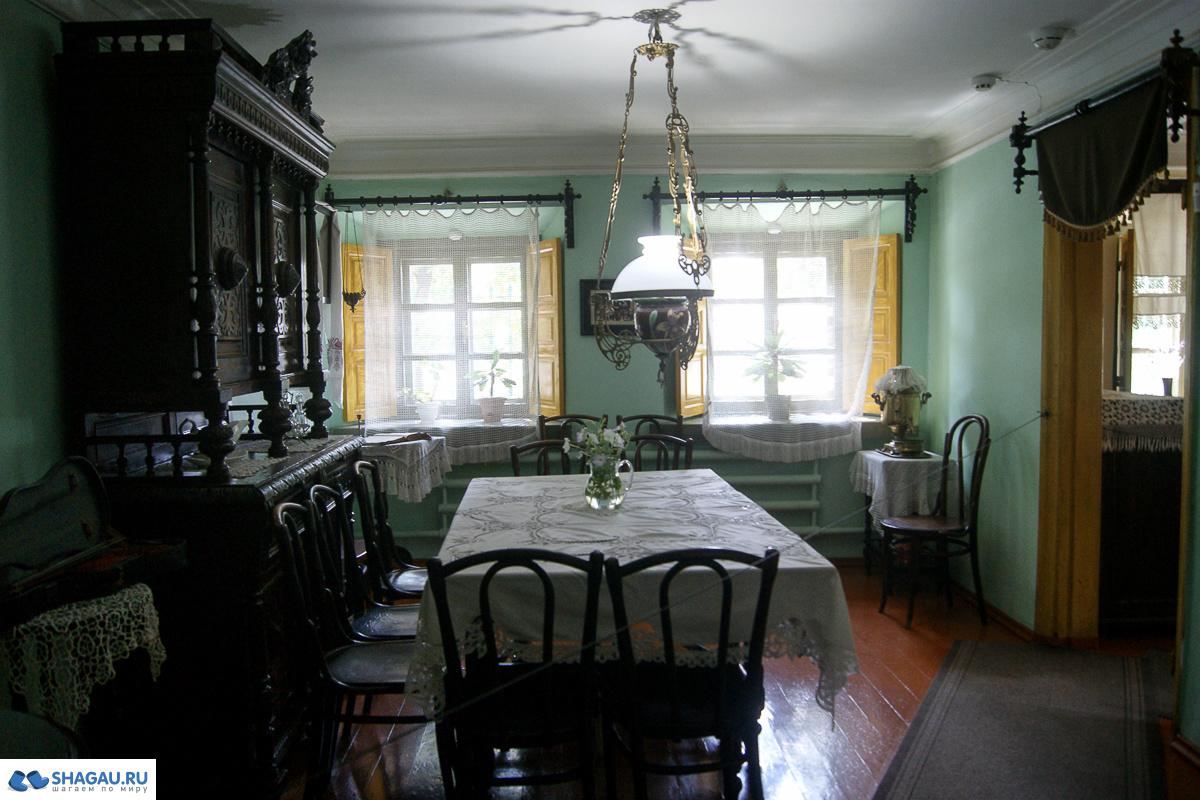 домик чехова в таганроге фото изнутри доме располагается