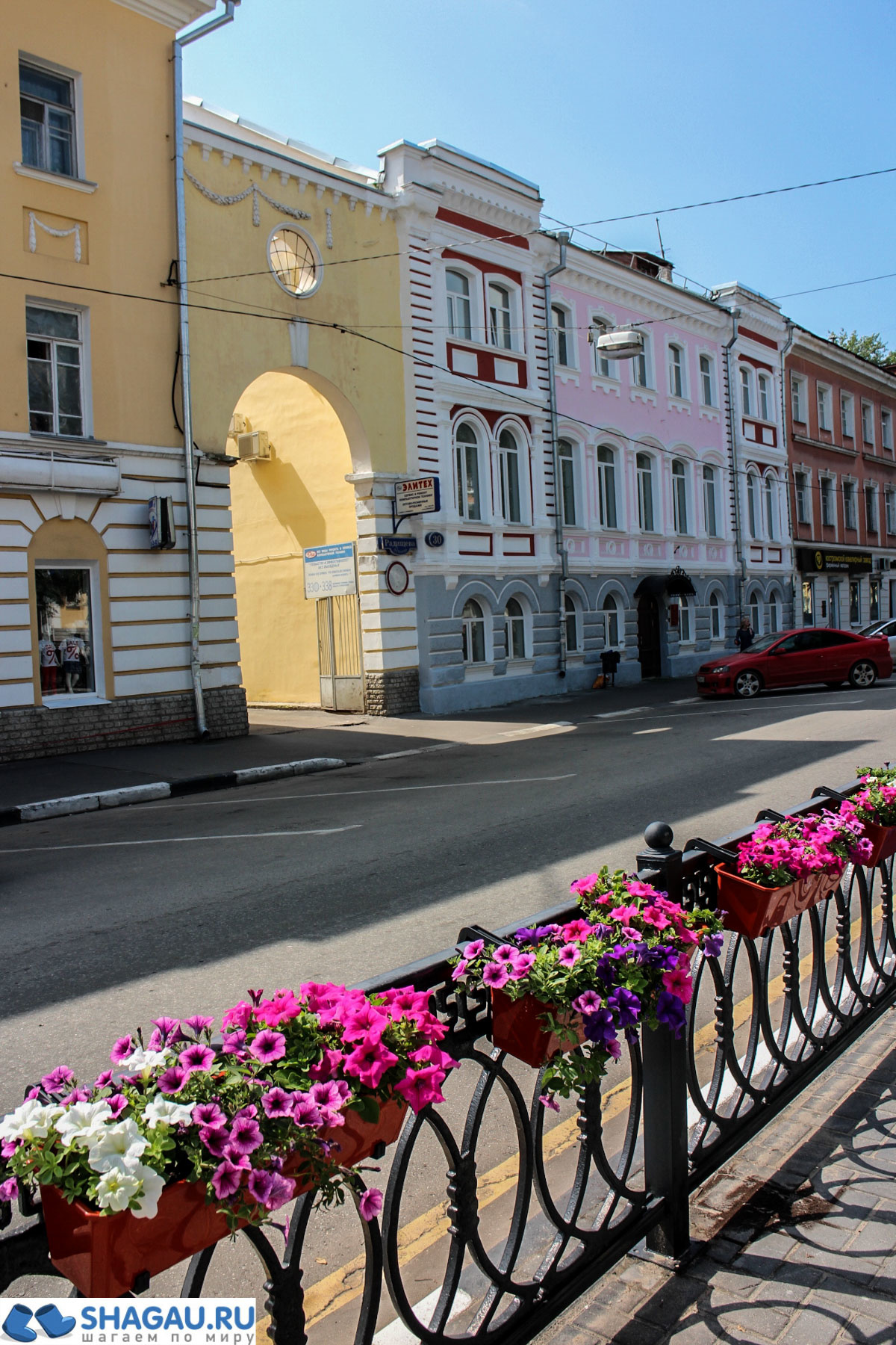 Улицы Твери