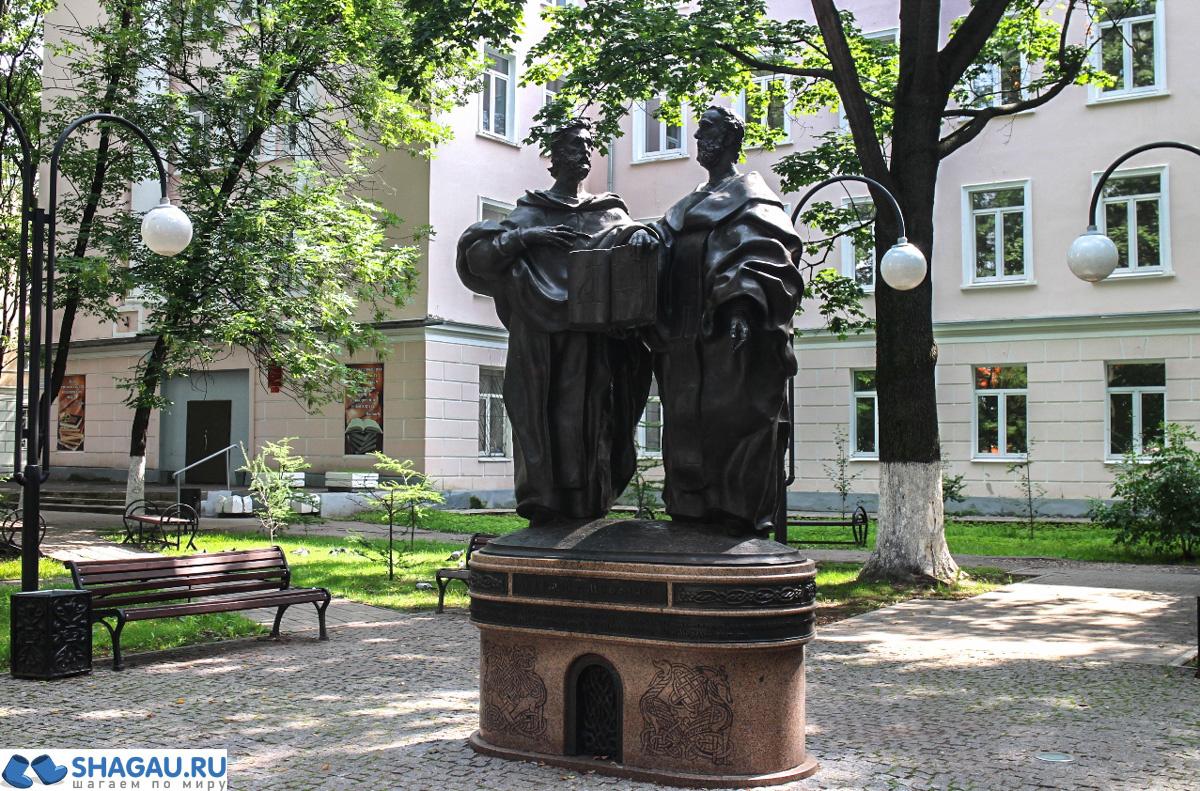 Памятники Твери