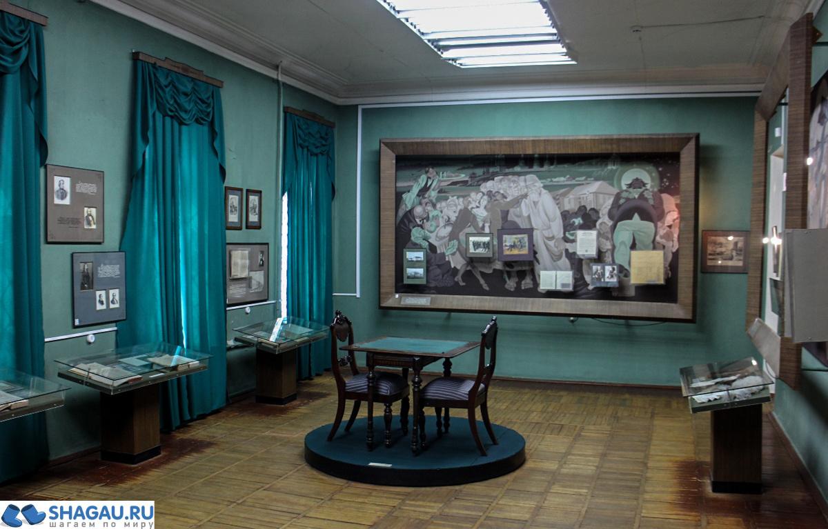 Залы музея Салтыкова-Щедрина в Твери