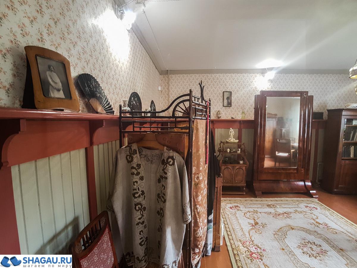 Залы усадьбы Шахматово