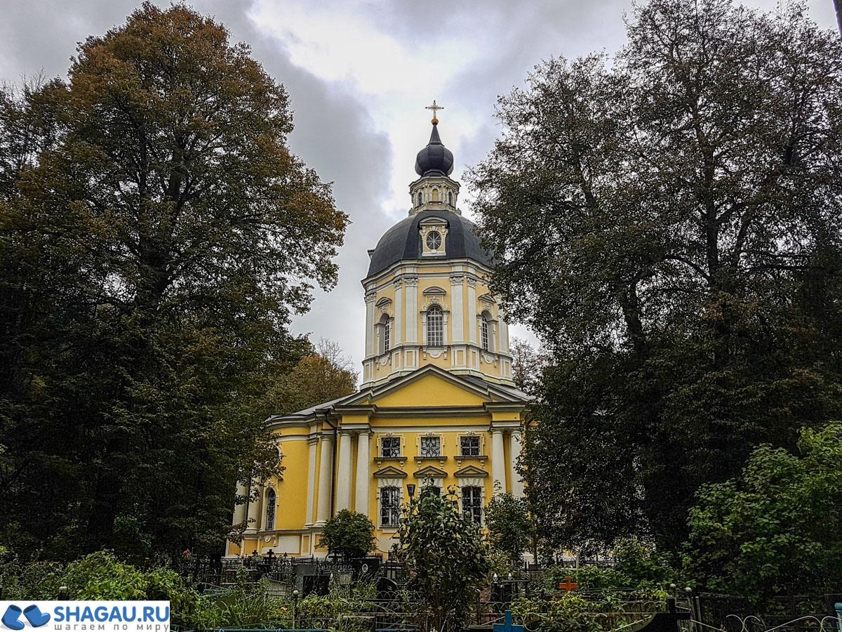Церковь Спаса Нерукотворного в Вороново