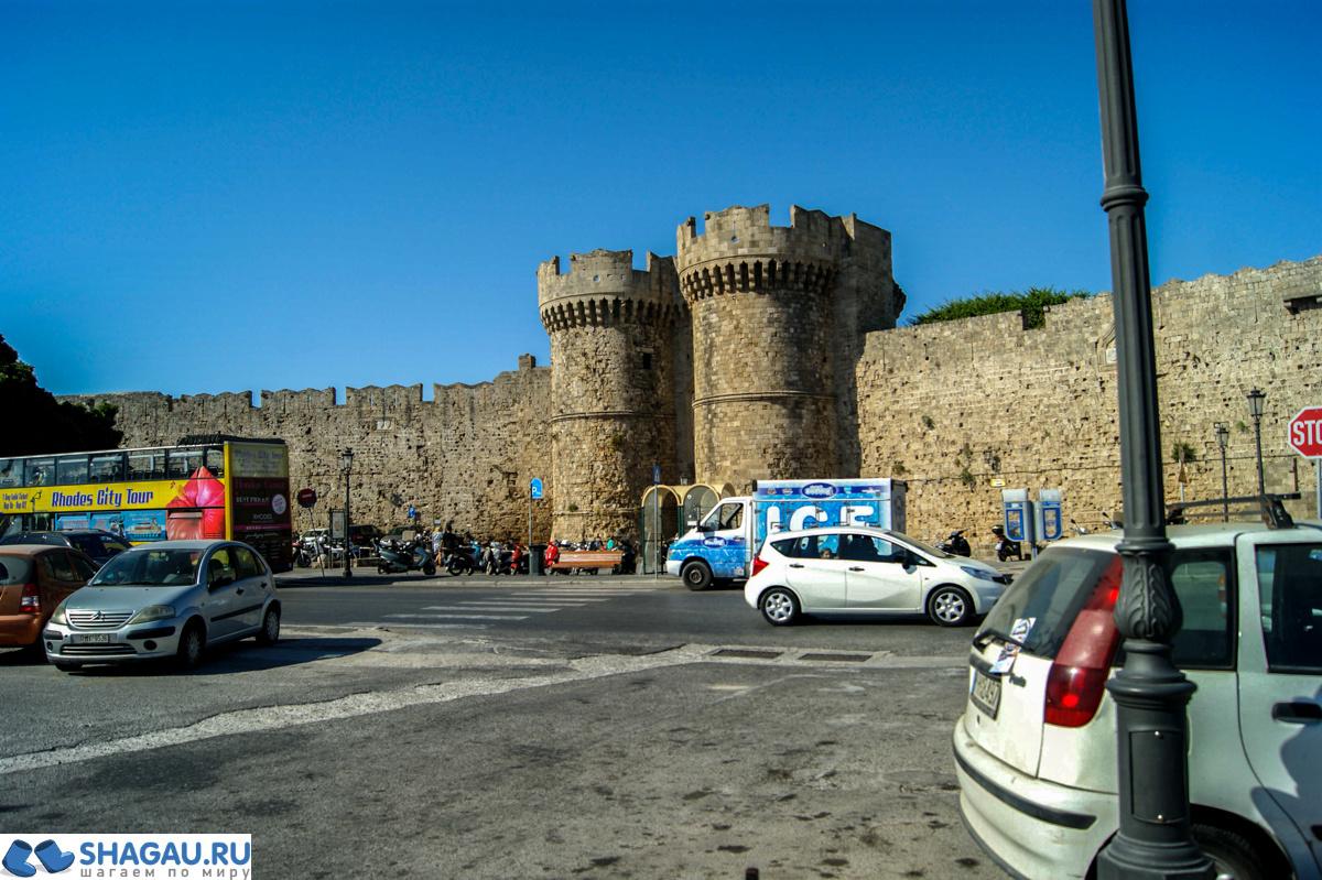 Старый город города Родос, Греция