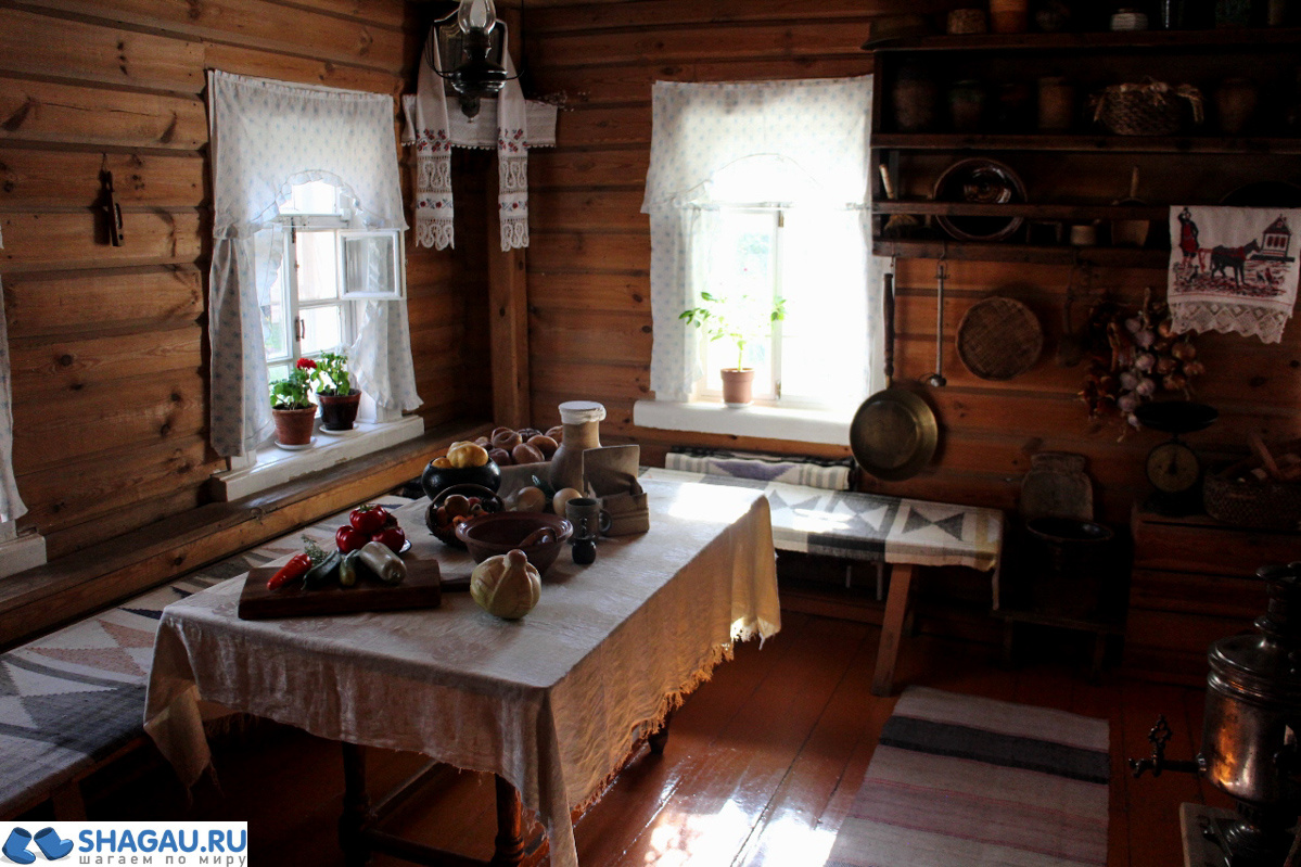 Кухня дома Павлова