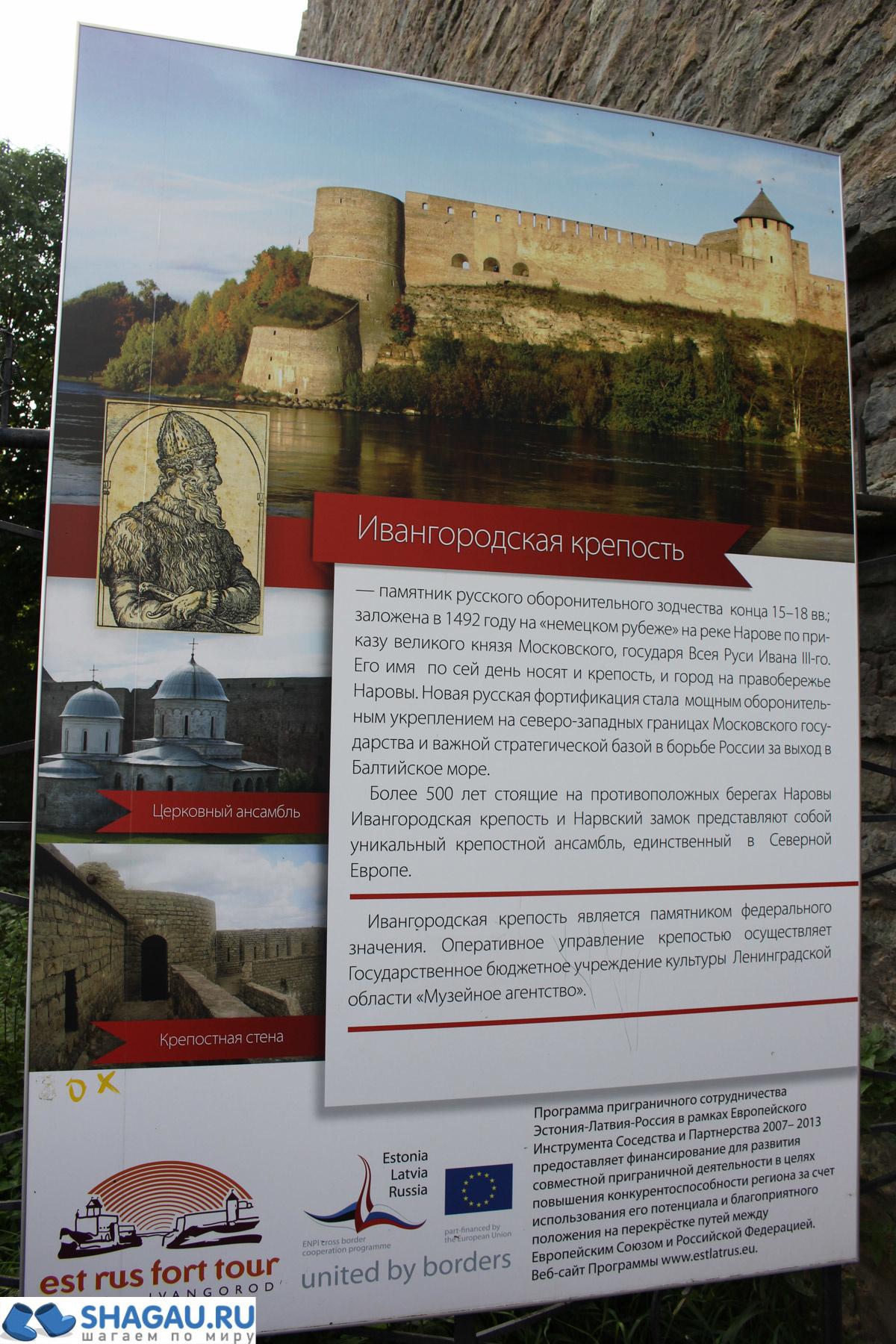 Ивангородская крепость: история