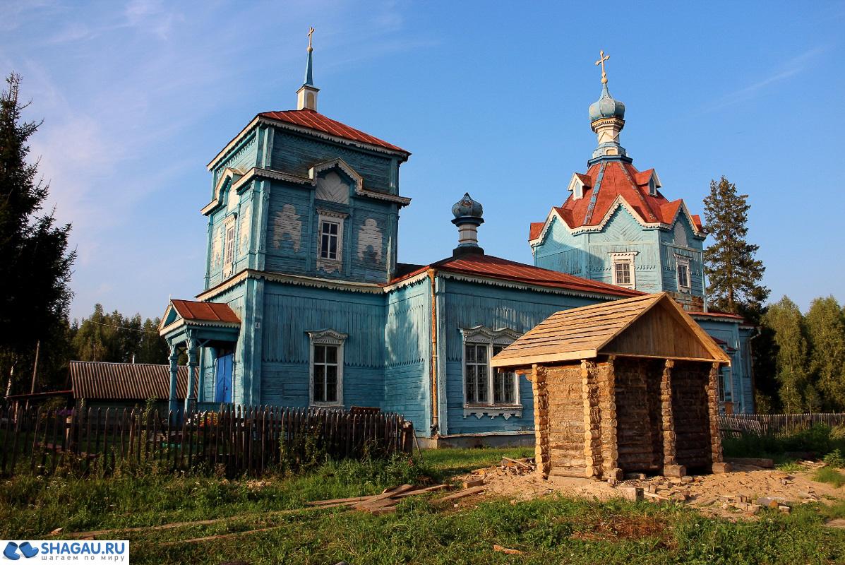 храм Рождества Пресвятой Богородицы в селе Боровое