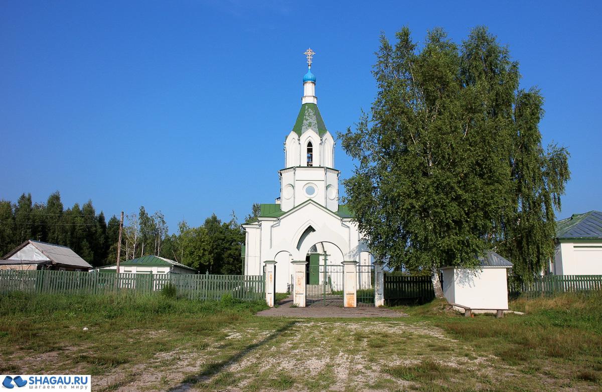 Село Наследничье,  храм Петра и Павла