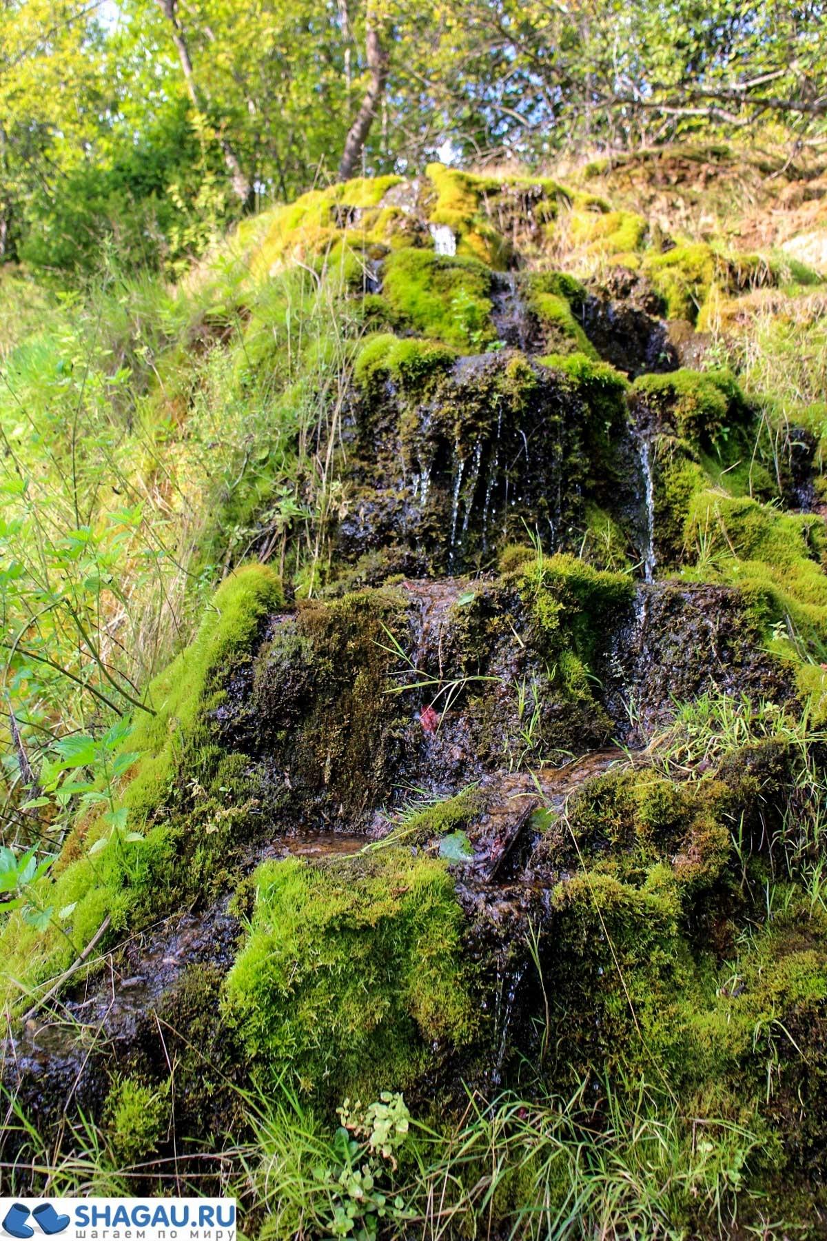 Водопад в Подмосковье