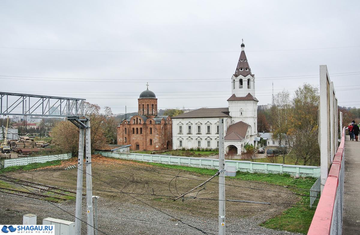 Петропавловская церковь на Городянке и Храм в честь святой великомученицы Варвары
